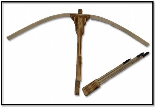 מעולה  רובה עץ חץ וקשת ענק בשקית 40.5X78.5 סמ | - חנות צעצועים מבית טוב SL-72